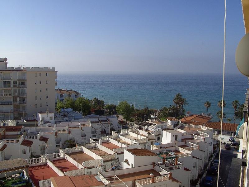 Aussicht vom Balkon J6 Nerja