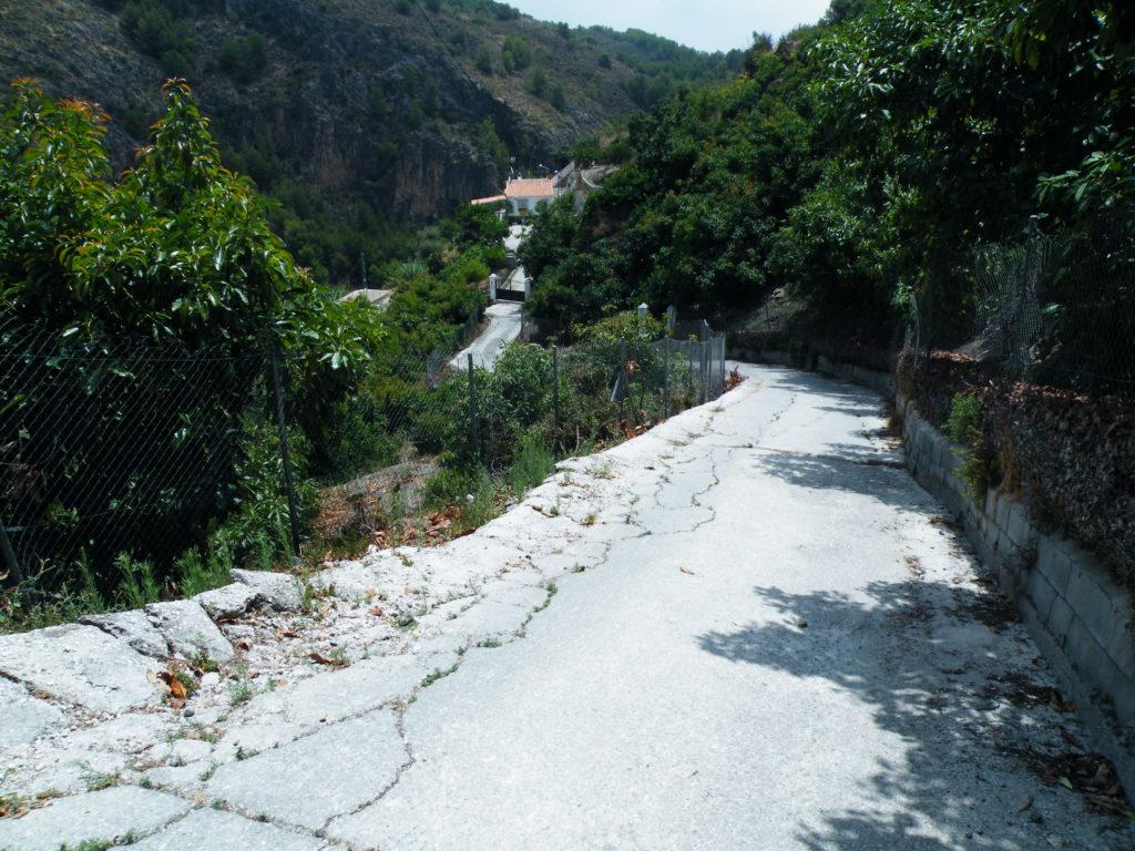 Wanderwege Frigiliana